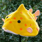 オリジナル制作帽子 ラクダハコフグ帽子