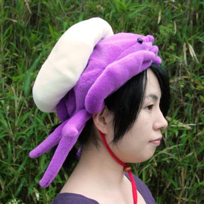 オリジナル制作(オーダーメイド)帽子 カイカムリ帽子-2