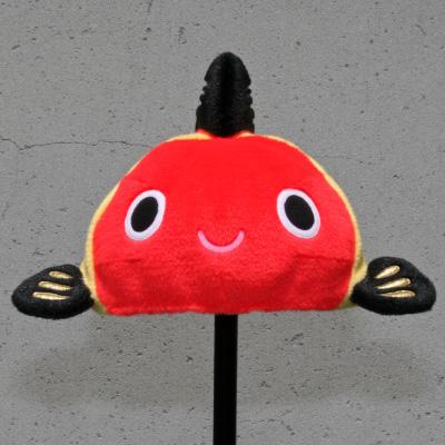 オリジナル制作(オーダーメイド)帽子 黄ぶな帽子-2