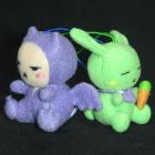オリジナル制作ぬいぐるみ キャラクター コウサギと小悪魔