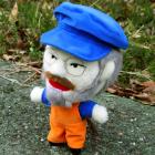オリジナル制作ぬいぐるみ キャラクター リッキーさん人形