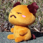 オリジナル制作ぬいぐるみ キャラクター tom犬