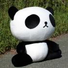 オリジナル制作ぬいぐるみ キャラクター のんびりパンダ