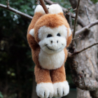 オリジナル制作ぬいぐるみ キャラクター 猿の助 (リスザル)