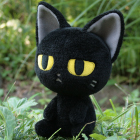 オリジナル制作ぬいぐるみ キャラクター クロネコ1号
