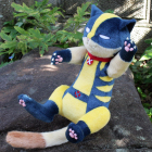 オリジナル制作ぬいぐるみ キャラクター 猫のキャラクター