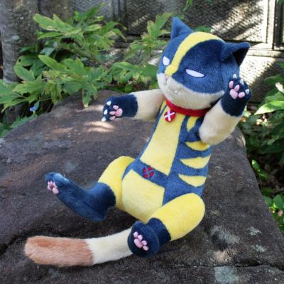 オリジナル制作(オーダーメイド)ぬいぐるみ 猫のキャラクター-1