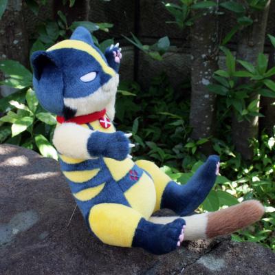 オリジナル制作(オーダーメイド)ぬいぐるみ 猫のキャラクター-2