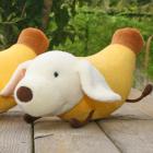 オリジナル制作ぬいぐるみ キャラクター Banana Dog
