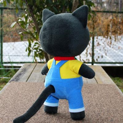 オリジナル制作(オーダーメイド)ぬいぐるみ ワクドキ勉強中のネコ-2