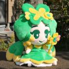 オリジナル制作ぬいぐるみ キャラクター よつ葉ちゃん