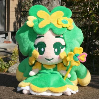 オリジナル制作(オーダーメイド)ぬいぐるみ よつ葉ちゃん-1