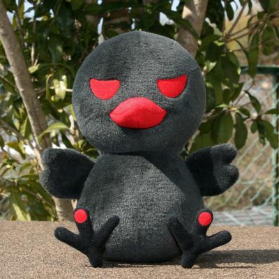 オリジナル制作(オーダーメイド)ぬいぐるみ 黒鳥キャラクター-1