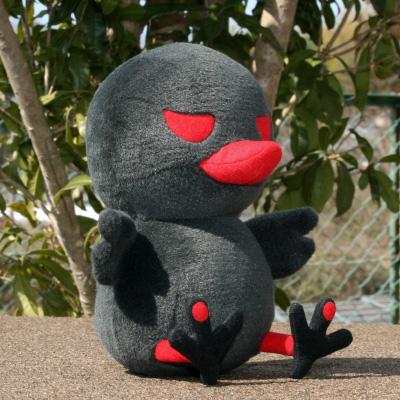 オリジナル制作(オーダーメイド)ぬいぐるみ 黒鳥キャラクター-2