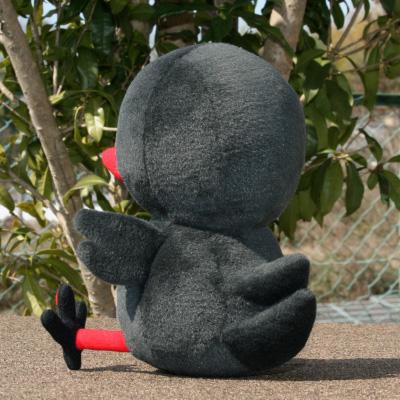 オリジナル制作(オーダーメイド)ぬいぐるみ 黒鳥キャラクター-3