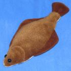オリジナル制作ぬいぐるみ 魚 ヒラメ