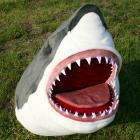 オリジナル制作ぬいぐるみ 魚 ホホジロザメ頭部
