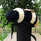オリジナル制作ぬいぐるみ 昆虫 エゾオオマルハナバチ