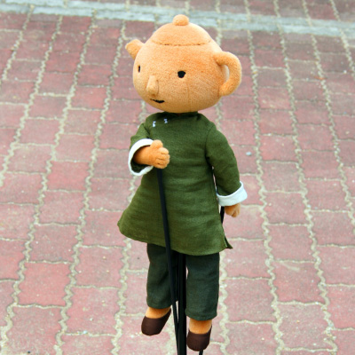 オリジナル制作(オーダーメイド)あやつり人形 ティーチャー先生-1