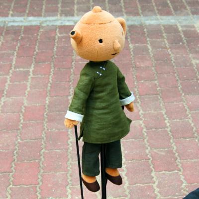 オリジナル制作(オーダーメイド)あやつり人形 ティーチャー先生-2