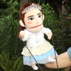 オリジナル制作あやつり人形 ぴちゃぴちゃ姫