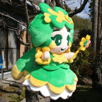 オリジナル制作(オーダーメイド)あやつり人形 よつ葉ちゃん-1