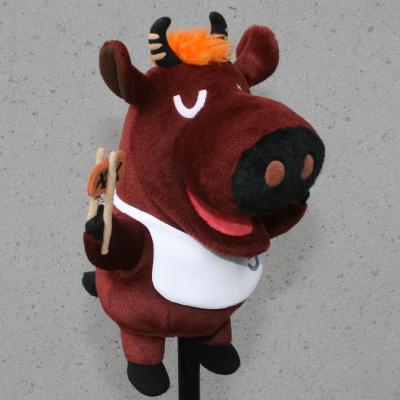 オリジナル制作(オーダーメイド)あやつり人形 お肉屋さんのひとり焼肉キャラクター-1