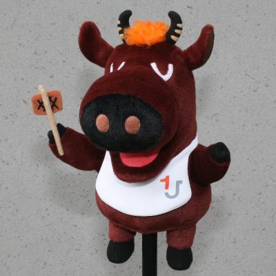 オリジナル制作(オーダーメイド)あやつり人形 お肉屋さんのひとり焼肉キャラクター-2